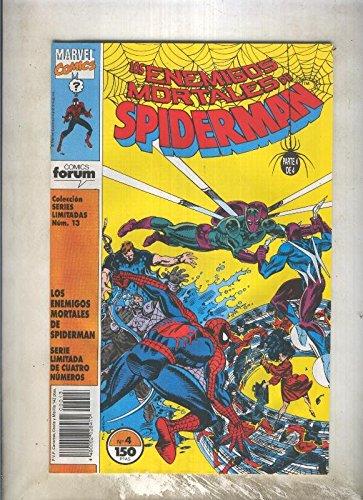 Series Limitadas numero 13: Los enemigos mortales de Spiderman numero 4