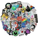 Rapidotzz Waterproof Graffiti Stickers to Personalize Laptops, Skateboards, Luggage, Cars, Bumpers, Bikes Laptop Generation (Science)