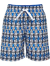 Lego Wear Boy Star Wars Pilou 455-Swim, Short Garçon