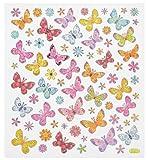 HOBBY-Design Sticker Schmetterling II Bogen 15,5 x 17 cm