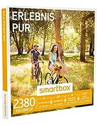 SMARTBOX - Geschenkbox - ERLEBNIS PUR - 2380 Erlebnisse aus den Kategorien Aufenthalte, Abendessen, Wellness und Sport