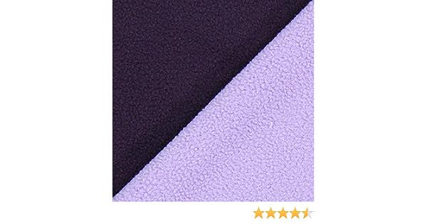 150/cm breit Uni Meterware erh/ältlich ab 0,5 m Fabulous Fabrics Fleece bordeauxrot Fleece zum N/ähen von Decken und Kissen