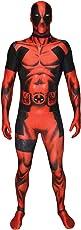 Offizieller Deadpool Morphsuit, Verkleidung, Kostüm  - XXLarge - 6'2-6'9 (186cm-206cm)