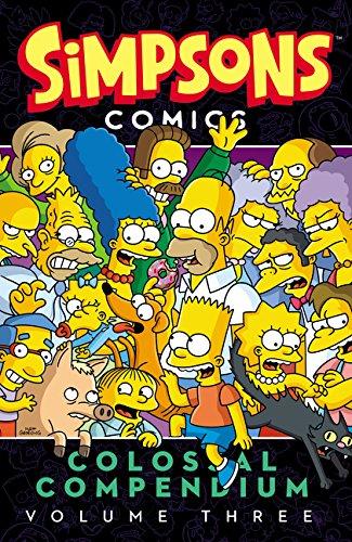 Simpsons Comics Colossal Compendium Volume 3 por Matt Groening