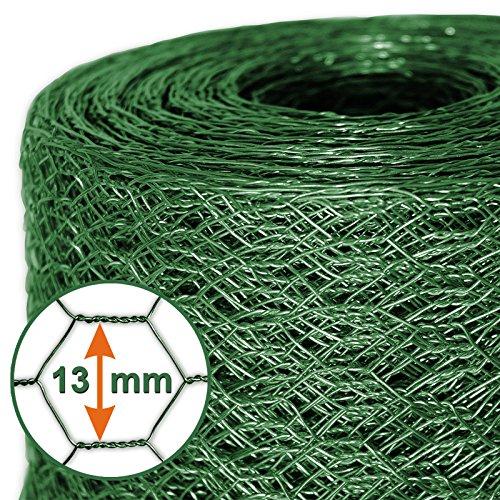 *Mammut® Drahtzaun / Sechskant-Geflecht | Maschenweite 13 mm | Gartenzaun | Länge und Höhe wählbar*