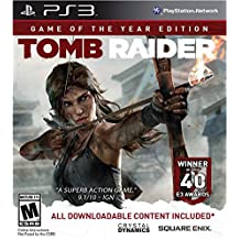 Square Enix Tomb Raider Game Of The Year Edition, PS3 Básica + DLC PlayStation 3 vídeo - Juego (PS3, Básica + DLC, PlayStation 3, Acción / Aventura, M (Maduro), Crystal Dynamics, Square Enix)