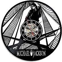 Michael Jackson tema reloj vinilo decorativo hecho a mano