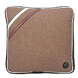 Cuscino da Massaggio Elettrico, Cuscino Vibrante per il Collo in Cotone Morbido e Silenzioso Massaggiatore Impastante per Safe Home Office Car Viaggiare, Approvazione CE/FDA / RoHS(Linen Brown)