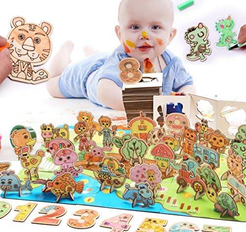 Weekendy Cadeau de Noël Haute qualité éducative éducative éducative 3D Puzzle Early Learning Toy Cadeaux fantastiques pour Les  s Casse-tête pour Adultes | Laissons Nos Produits De Base Aller Dans Le Monde  b01396