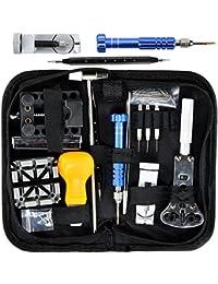 43e781d3cd7aed Kit Reparation Montre Outil Horloger Professionnel - STAGO 112pcs Outil  Montre Kit de Outils Horloger Watch