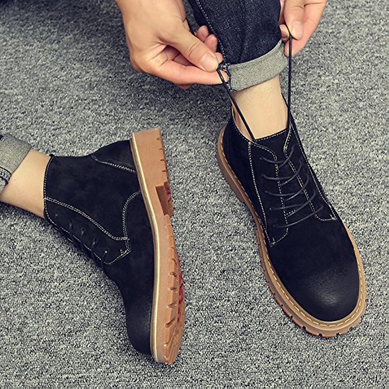 HL-retro-PYL Martin botas botas y botas para Martin zapatos y botas cortas,39,negro
