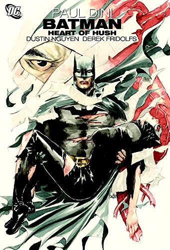 Batman Heart Of Hush TP by Dustin Nguyen (Artist) › Visit Amazon's Dustin Nguyen Page search results for this author Dustin Nguyen (Artist), Derek Fridolfs (Artist), Paul Dini (12-Mar-2010) Paperback