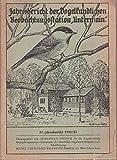 23.Jahresbericht 1949 / 50 der Vogelkundlichen Beo