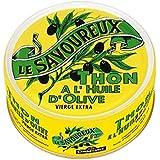 Le Savoureux - Thon à l'huile d'olive vierge extra - La boîte de 80g - Prix Unitaire - Livraison Gratuit Sous...