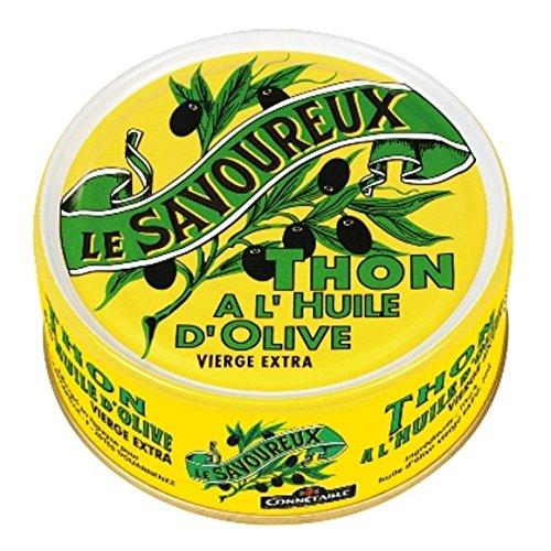 Thon à l'huile d'olive vierge extra - ( Prix Unitaire ) - Envoi Rapide Et Soignée