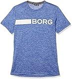 Björn Borg Herren Sporthemd 1p Tee Alfie, Blau (Surf The Web Melange 71511),L