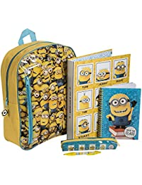 0f6dfdfbb7f3 Despicable Me Minion Filled Backpack Set
