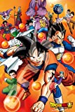1000 piece jigsaw puzzle Dragon Ball than (50x75cm)