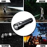 HIILIGHT LED Taschenlampe 3000 PRO B XM-LU2 Inkl. Akku Schwarz -
