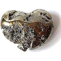 Reiki heilende Energie geladen Einzigartige Pyrit Herz Kristall Stein 208g (Wunderschön als Geschenk verpackt) preisvergleich bei billige-tabletten.eu