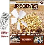 Strandbeest Bausatz mit Lehrbuch Windmühle mit Extra Technikerhandlupe Theo Jansen
