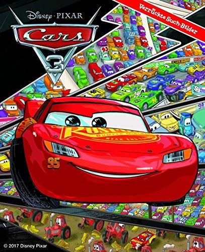 Cars 3 - Disney/Pixar -Verrückte Such-Bilder - Hardcover - Wimmelbuch - das Buch zum Film