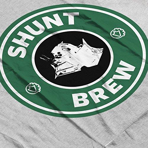 Robot Wars Shunt Brew Starbucks Men's Vest Heather Grey