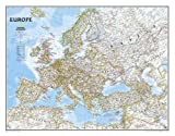 Europe Classic, Tubed: Wall Maps Continents (National Geographic Reference Map)
