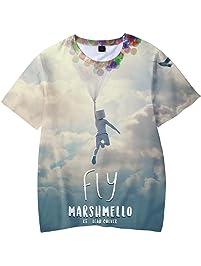 921fd0755 Camiseta para Niños 3D Impresión Gráfica Marshmello DJ Cool Hip Hop Manga  Corta