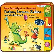 Mein Puzzle- Spiel- und Lernbuch: Farben, Formen, Zahlen - was ich alles kann! (Kiddilight)