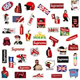 Q-Window Supreme Sticker Pack [102 pcs] Autocollants en Vinyle pour Skateboards,vélos,Bagages,PS4,Xbox One,Phone - Party Favors...