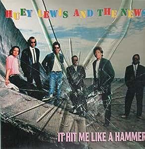 it hit me like a hammer remix sax solo version 1991 vinyl single huey lewis the news. Black Bedroom Furniture Sets. Home Design Ideas