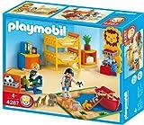 Playmobil - Habitación de los niños, set de juego (4287)