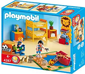 Playmobil 4287 Childrens Room Toys Games