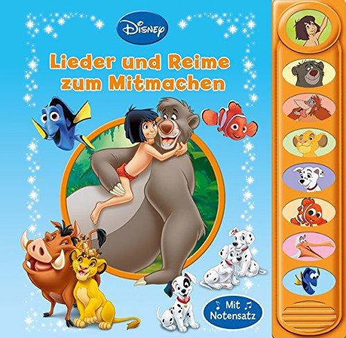Disney Mit Kleinkindern - Disney - Die schönsten Mitmachlieder -