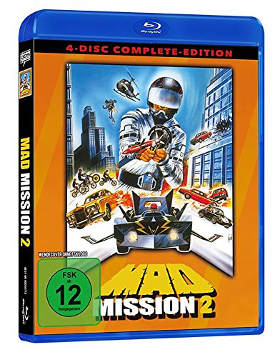 Mad Mission 2 - Uncut - 4 Disc Complete-Edition [Blu-ray]