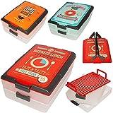 1 Stück _ Partycontainer / Transportbox - 2 Etagen mit Transporthaube -
