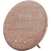 HOIHO Altavoces Bluetooth inalámbrico portátil Bluetooth 4.1,12W, con radio FM, micrófono incorporado, audio Jac 3.5 mm, acoplamiento estéreo para sonido envolvente, para deportes, viajes, ducha, playa, fiesta ( Color : Pink )