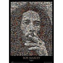 GB eye LTD, Bob Marley, Mosaic, Maxi Poster, 61 x 91,5 cm