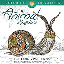 Animal Kingdom Coloring Patterns - Pattern Coloring Books For Adults