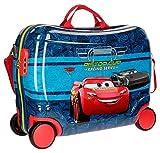 Disney Racing Series Valigia per bambini, 50 cm, 34 liters, Blu (Azul) immagine