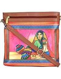 All Things Sundar Womens Sling Bag / Cross Body Bag - S03 - 02