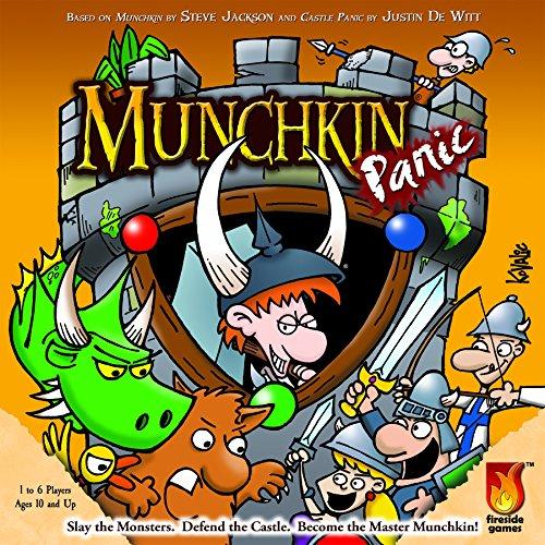 Unbekannt Fireside Games FSG01004 - Munchkin Panic, Brettspiel