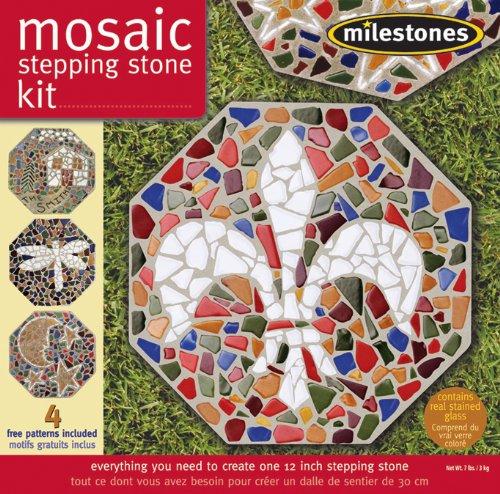 Mosaic Stepping Stone Kit-Mosaic