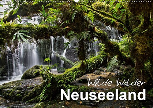 Neuseeland - Wilde Wälder (Wandkalender 2019 DIN A2 quer): Tauchen Sie ein in die Urwälder Neuseelands! (Monatskalender, 14 Seiten ) (CALVENDO Natur)