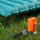 Lorenlli Bomba de Aire portátil con 3600mAh Batería de Aire Recargable con batería USB para inflables Inflables rápidos Desinflar el colchón de Aire