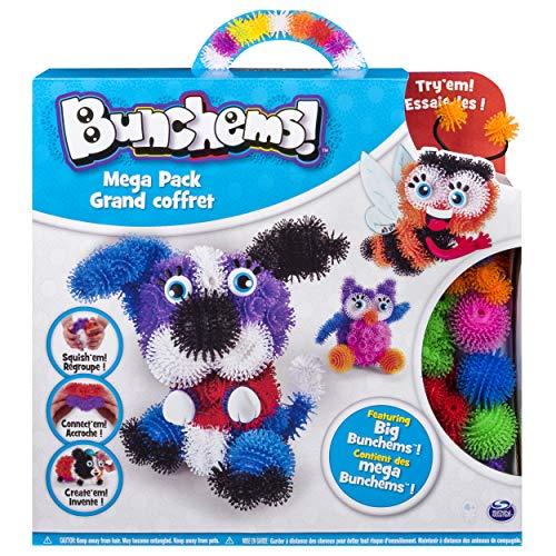 Bunchems 6026103 - Mega Pack, Kreativ Set, mit Bunchems Klettbällchen und Accessoires, Basteln