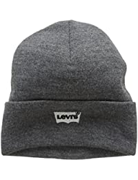 Levi's Men's Batwing Embroidered Slouchy Beanie