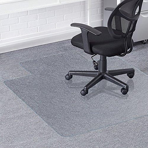 Stuhl, für harten Boden, greenmall 90x 120cm (3'x 4') Bürostuhl PVC-Matte für harte Boden Schutz, strapazierfähig Struktur und kratzfest (Hartholz-fußboden-matte Stuhl)