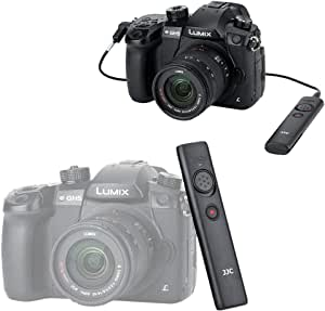removable Clip Panasonic S1 S1R Video Remote JJC Ergonomic Cable Switch for Panasonic S1 S1H S1R GH5 GH5s G9 G90 G95 G99 FZ1000 II Control Shutter Release Video Recording replace Panasonic DMW-RS2